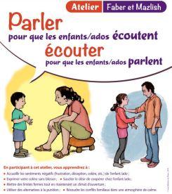 Image + titre + contenu - Parler pour que les enfants - ados écoutent